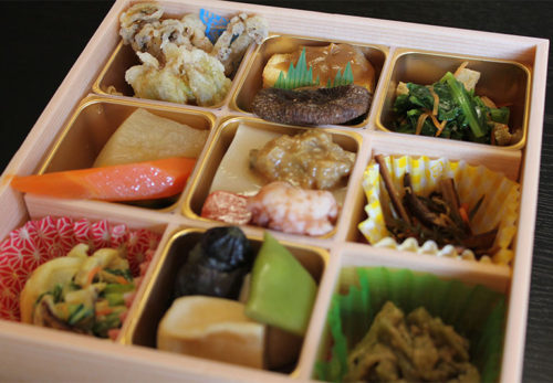 東大寺お水取り精進料理お弁当
